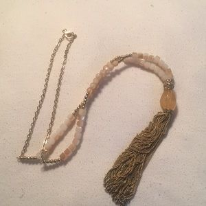 """Jewelry - 21"""" gold beaded necklace"""